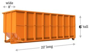 dumpster rental fort collins 30 yard dimensions